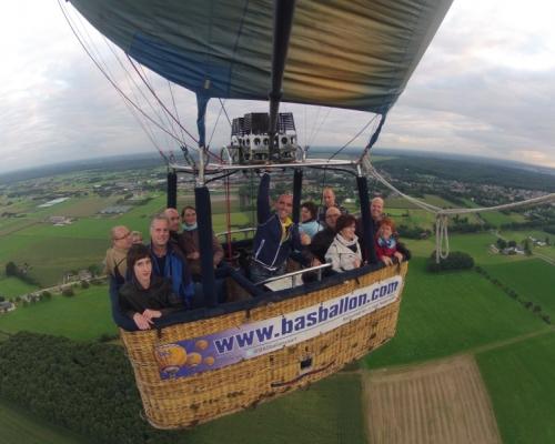 Ballonvaart boven Groesbeek