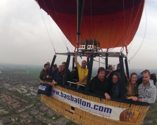 Ballonvaart boven IJsselstein