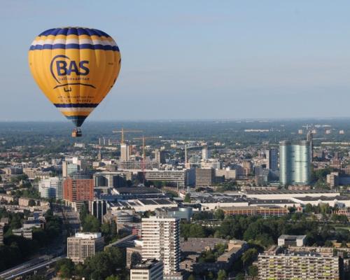 Ballonvaart boven Utrecht