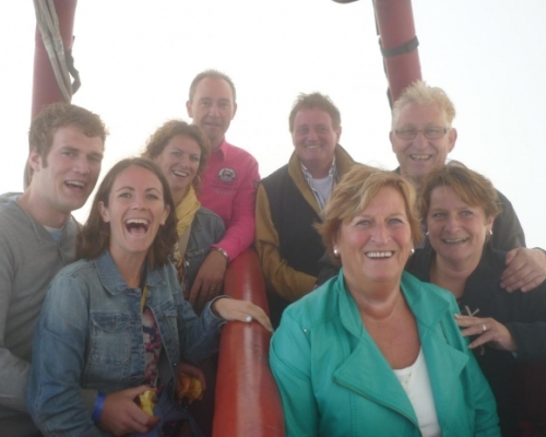 Ballonvaart in Houten