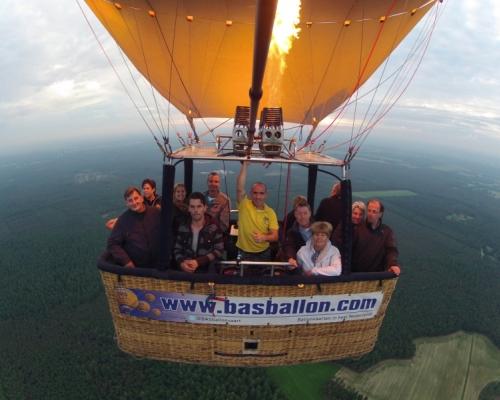 Ballonvaart in Ommen