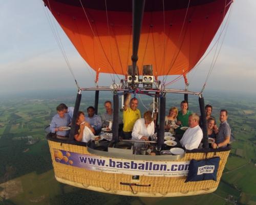 Ballonvaart met Leaseplan
