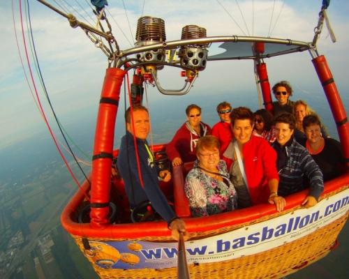 Ballonvaart met Peter van Harten