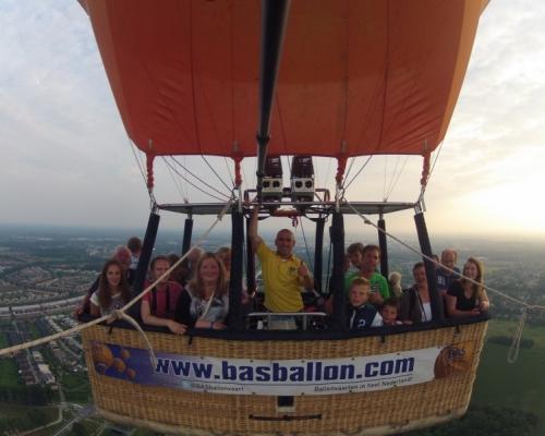Ballonvaart vanaf Deventer