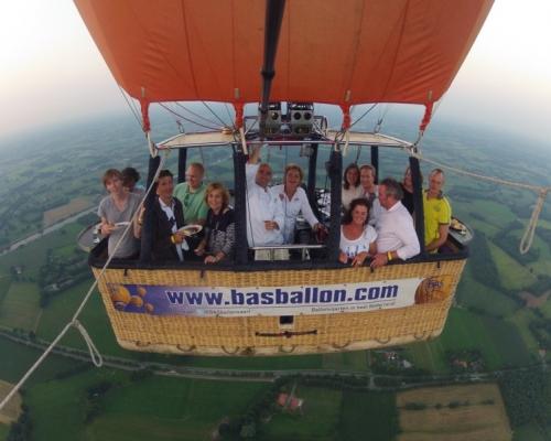 Ballonvaart vanaf Enschede