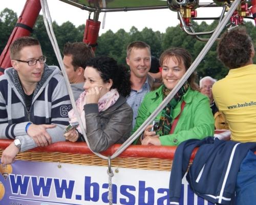Ballonvaart vanaf de Pettelaar in Den Bosch