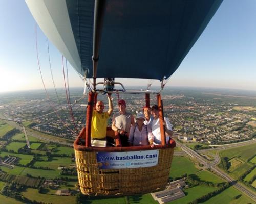 Ballonvaren in Apeldoorn