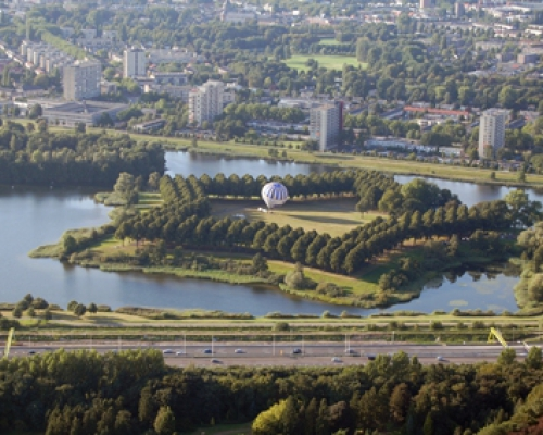 Ballonvaren in Den Bosch