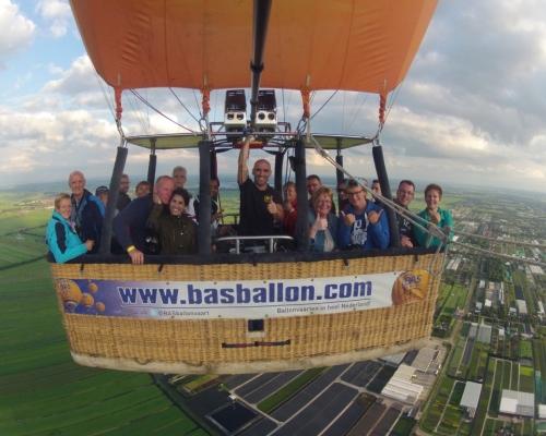 Ballonvaren in Zuid Holland