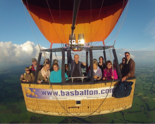Ballonvaren naar Haaksbergen
