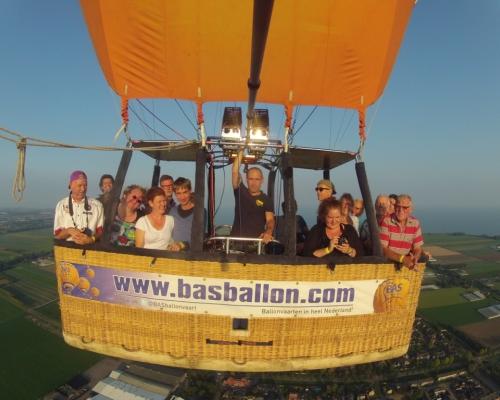 Ballonvaren over Hoorn