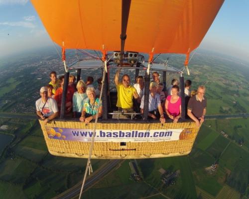 Ballonvaren boven Twente