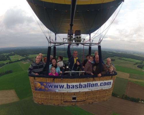 Ballonvaren in Groesbeek