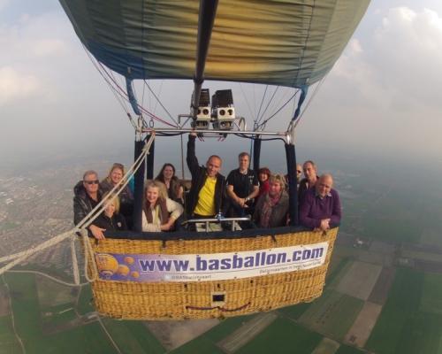 Ballonvaren met de Rabobank