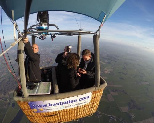 Huwelijksaanzoek Luchtballon Deventer