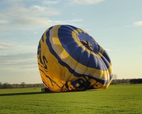 Landing Luchtballon