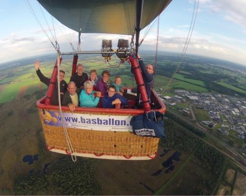 Luchtballon boven Nijverdal