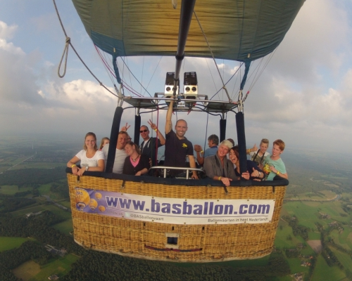 Luchtballon boven Ommen