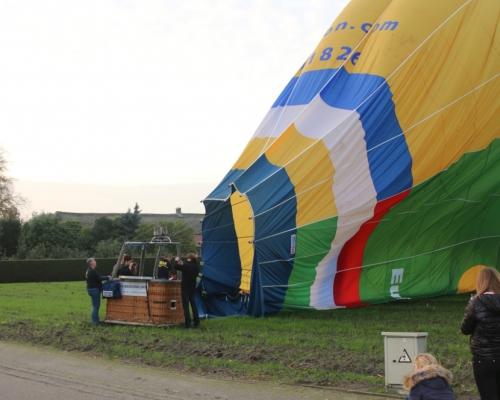 Luchtballon geland