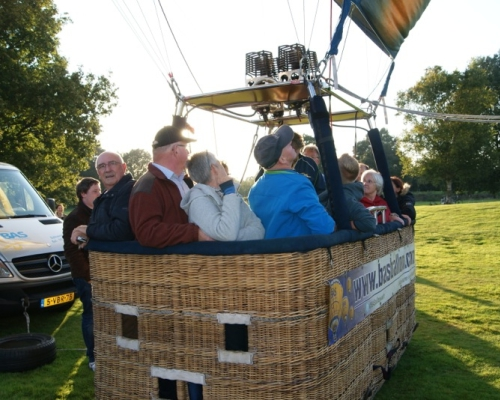 Luchtballon in het Schelfhorstpark