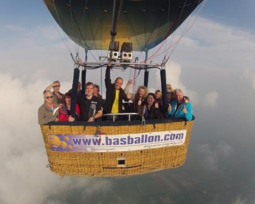 Luchtballon boven Twente