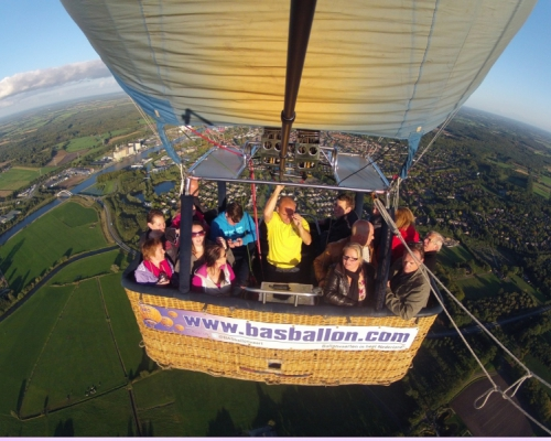 Luchtballon in Laren