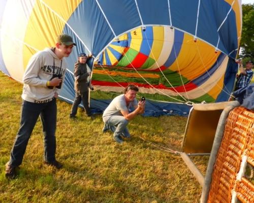 Luchtballon in Manderveen