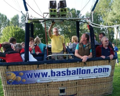 Luchtballon in NIeuwegein