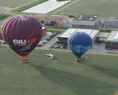 Luchtballonnen in Oudkarspel