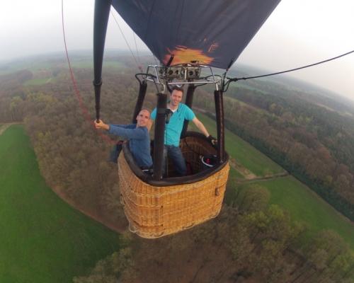 Maak een ballonvaart