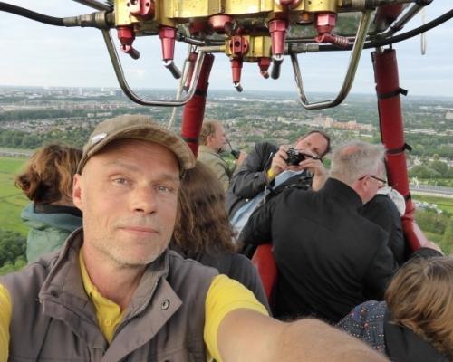 Piloot Huib Holsteijn