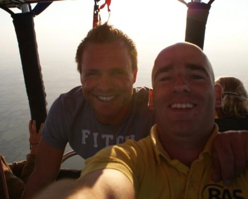 Piloten Bas en Jeroen