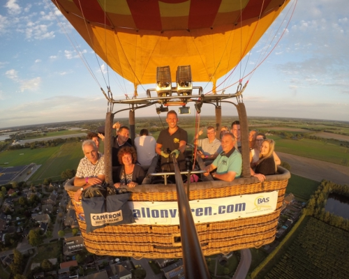 Prive ballonvaart in Sterksel